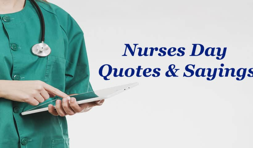 short nurses day quotes