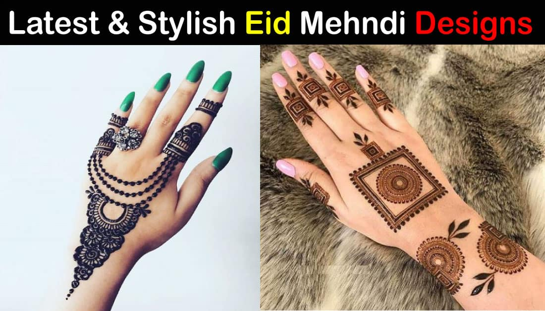 20+ Latest Eid Mehndi Designs for Eid 2020