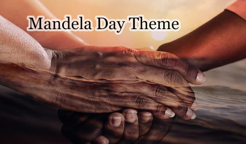 nelson mandela day 2020 theme