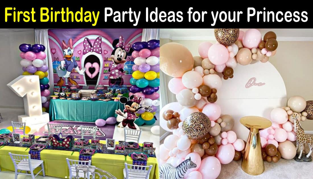 10 Cute First Birthday Themes for Girls