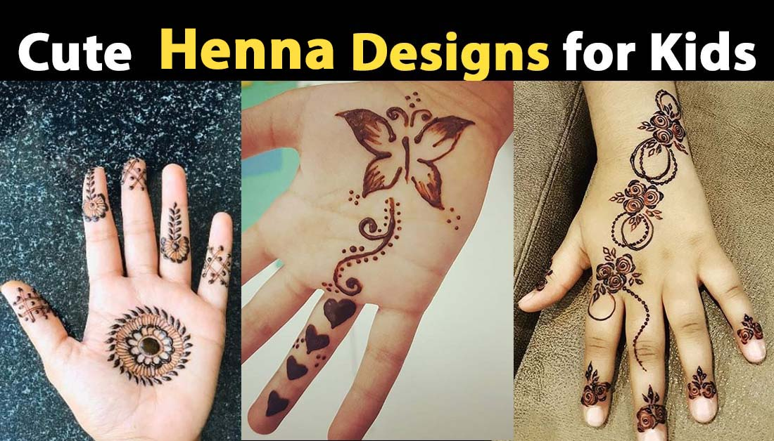 Henna Designs for Kids – Hands and Feet Mehndi Designs