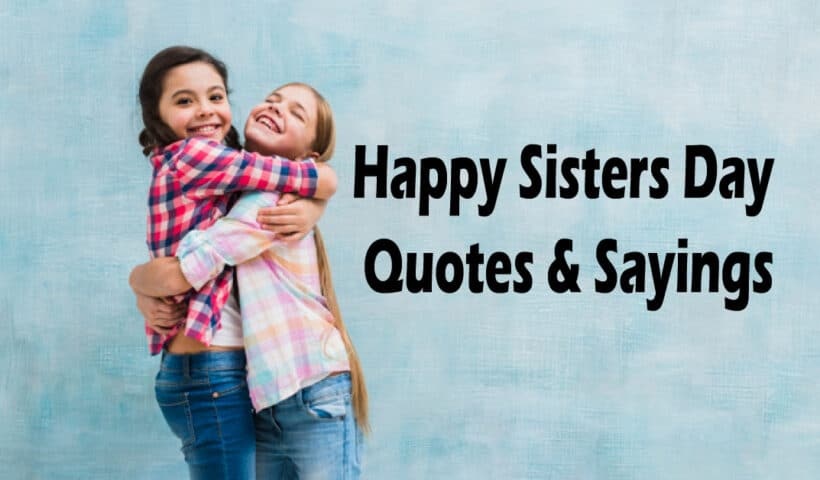 sisters day quotes