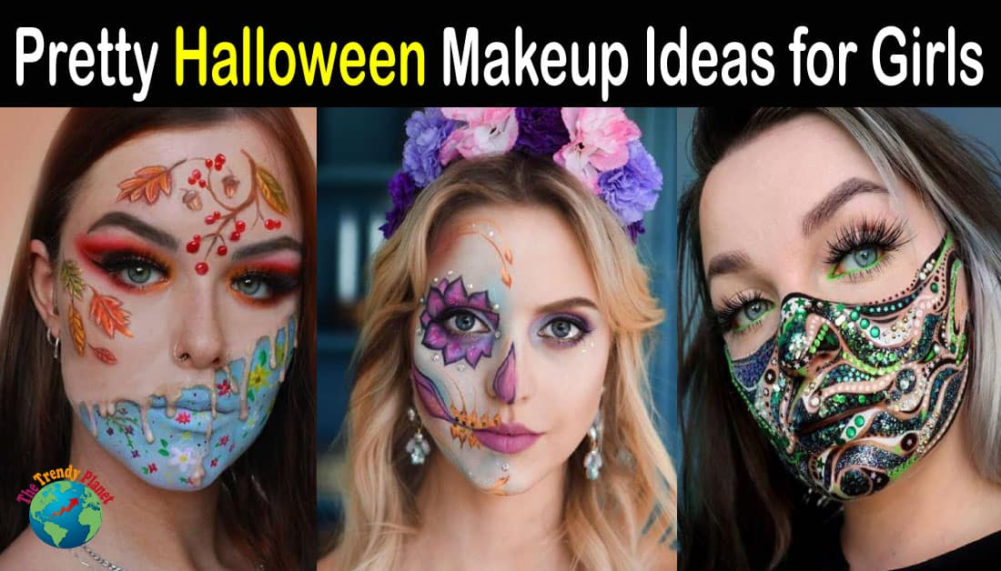 23+ Pretty Halloween Makeup Ideas for Girls – Halloween 2020