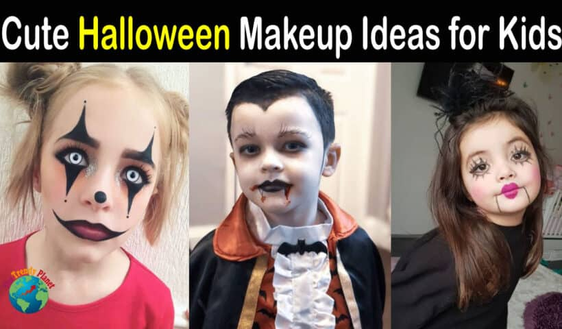 Halloween Makeup Ideas for Kids