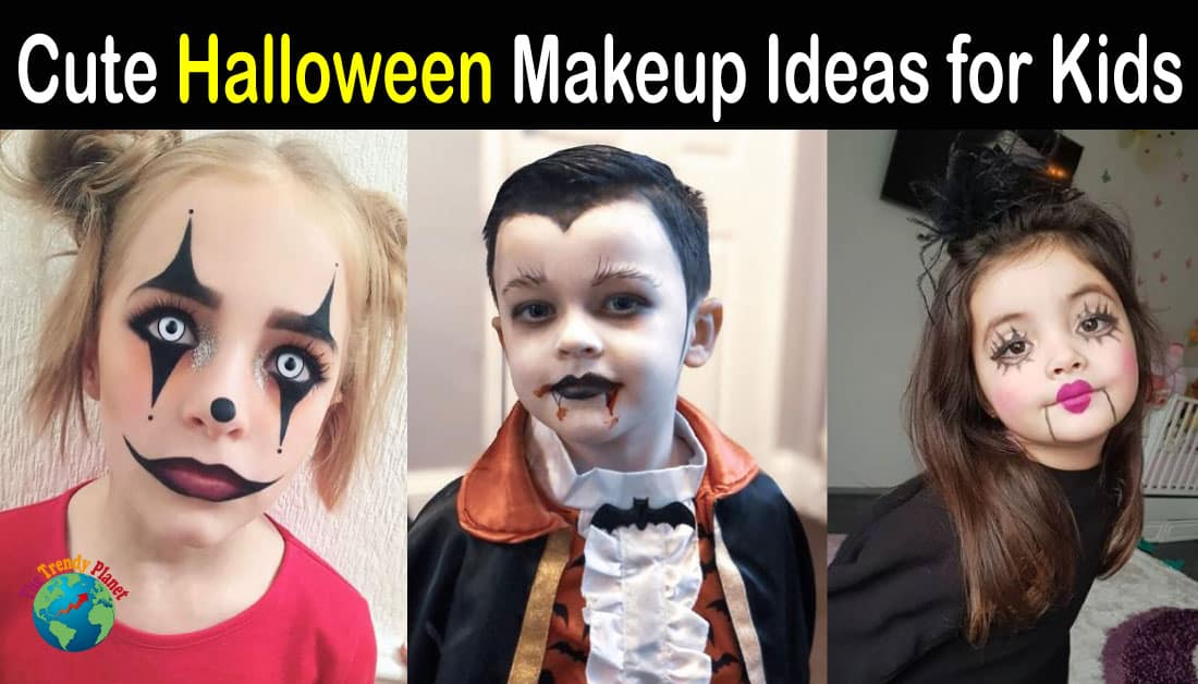 20+ Cute Halloween Makeup Ideas for Kids – Halloween 2020