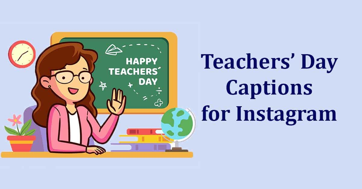 teachers day Instagram captions