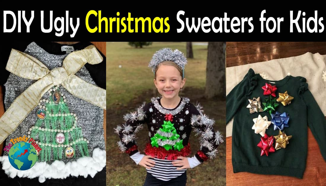 20+ DIY Ugly Christmas Sweaters for kids in 2020