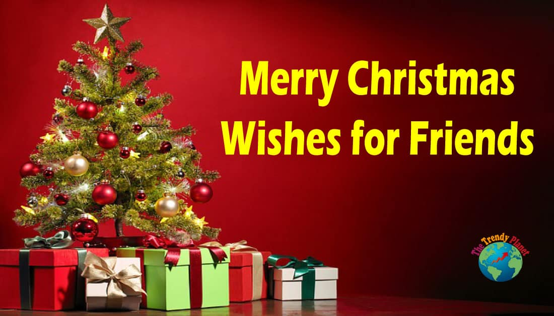 Merry Christmas Wishes for Friends with Images 2020