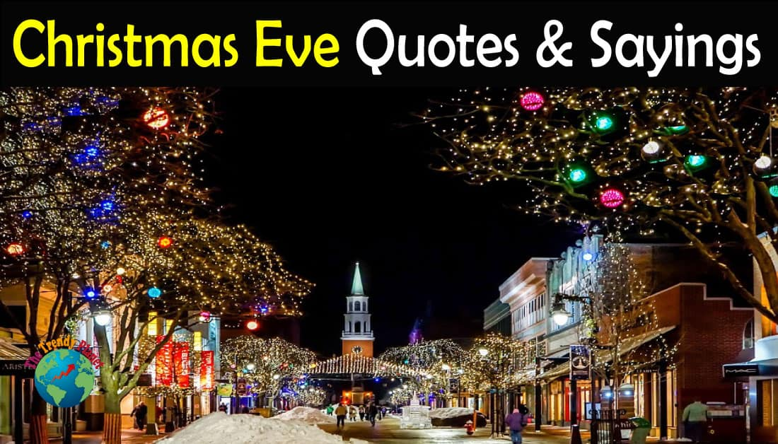 Happy Christmas Eve Quotes & Sayings with Images