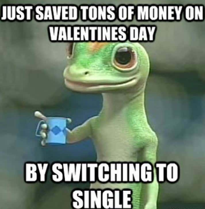 funny valentines day memes for singles