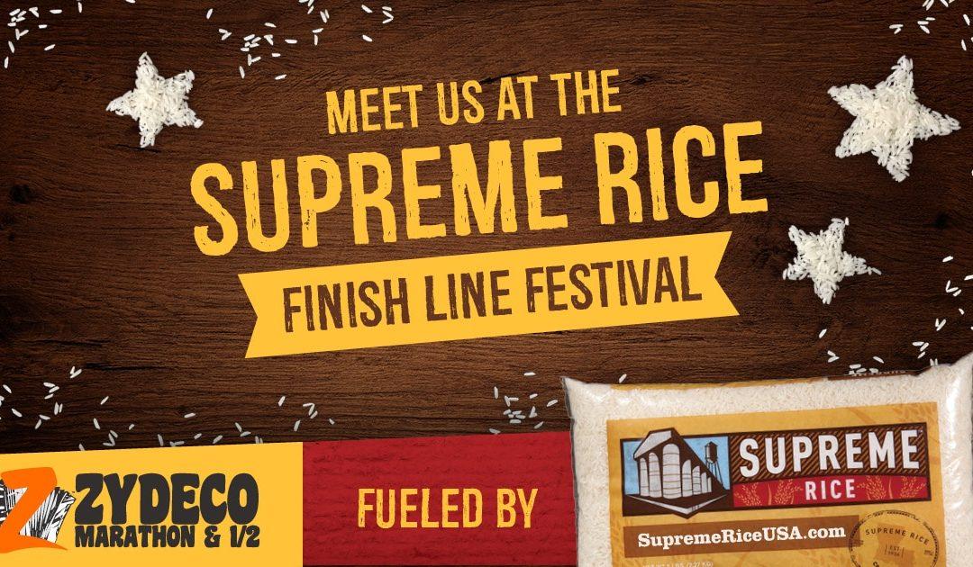 Supreme Rice Finish Line Festival!