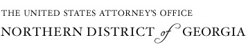 U.S. Attorney's Office - Northern District of Georgia