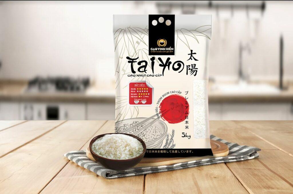 Gạo Nhật cao cấp Taiyo