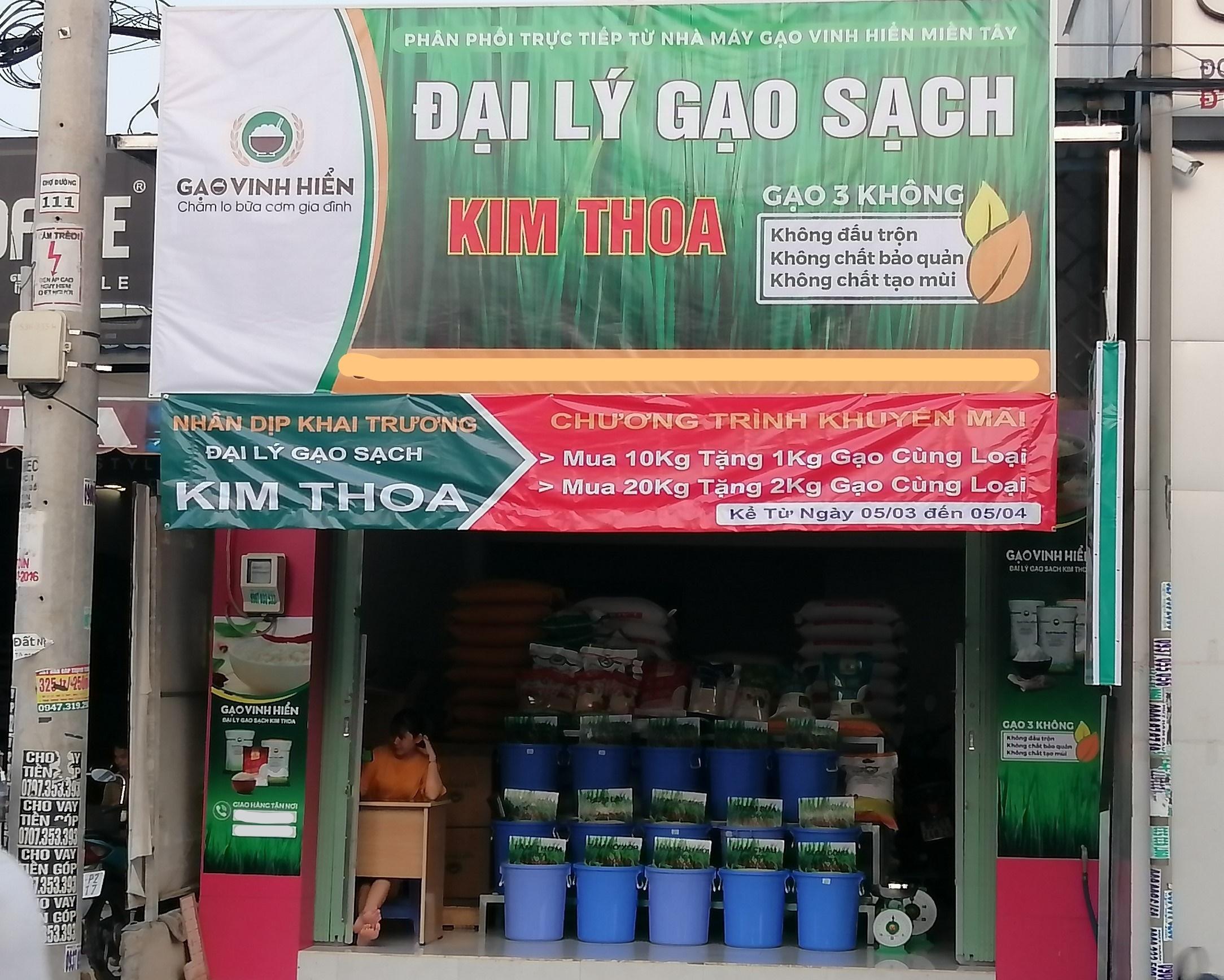 đại lý gạo Kim Thoa