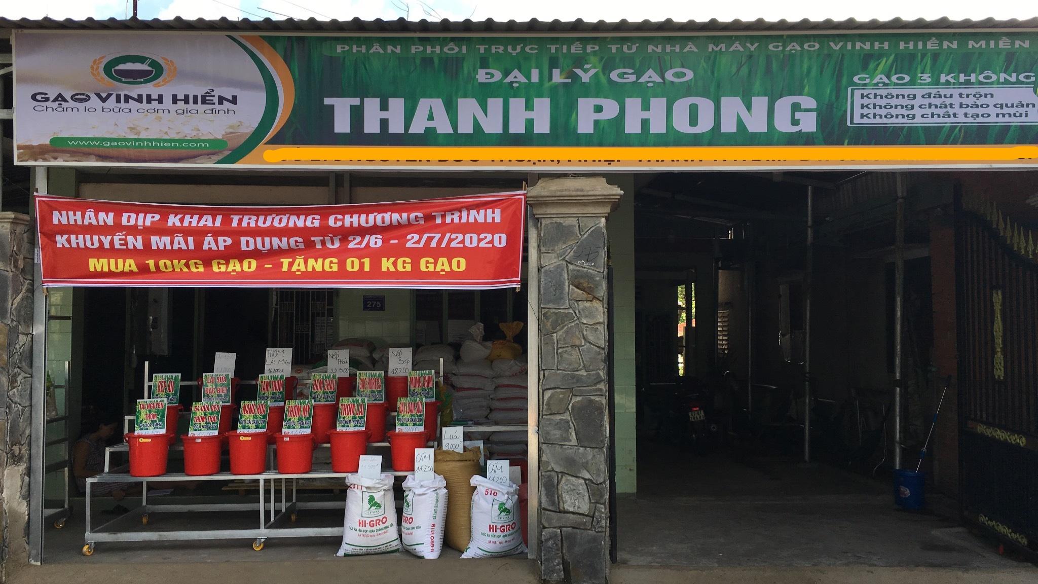 Đại lý gạo Thanh Phong