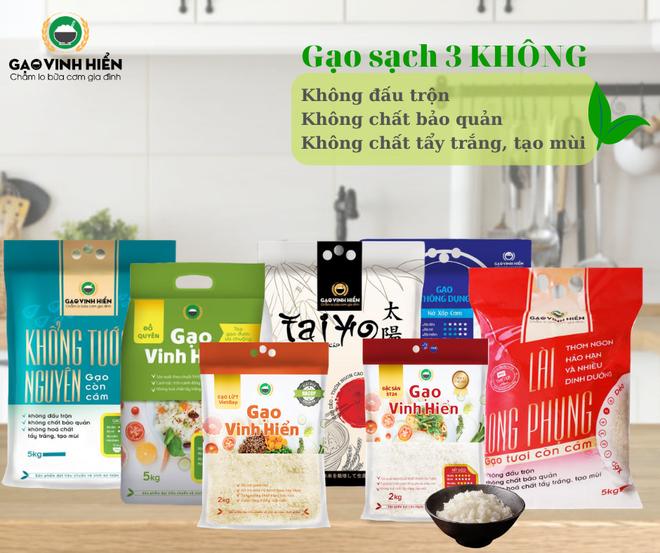 Kinh doanh gạo online trên thương mại điện tử
