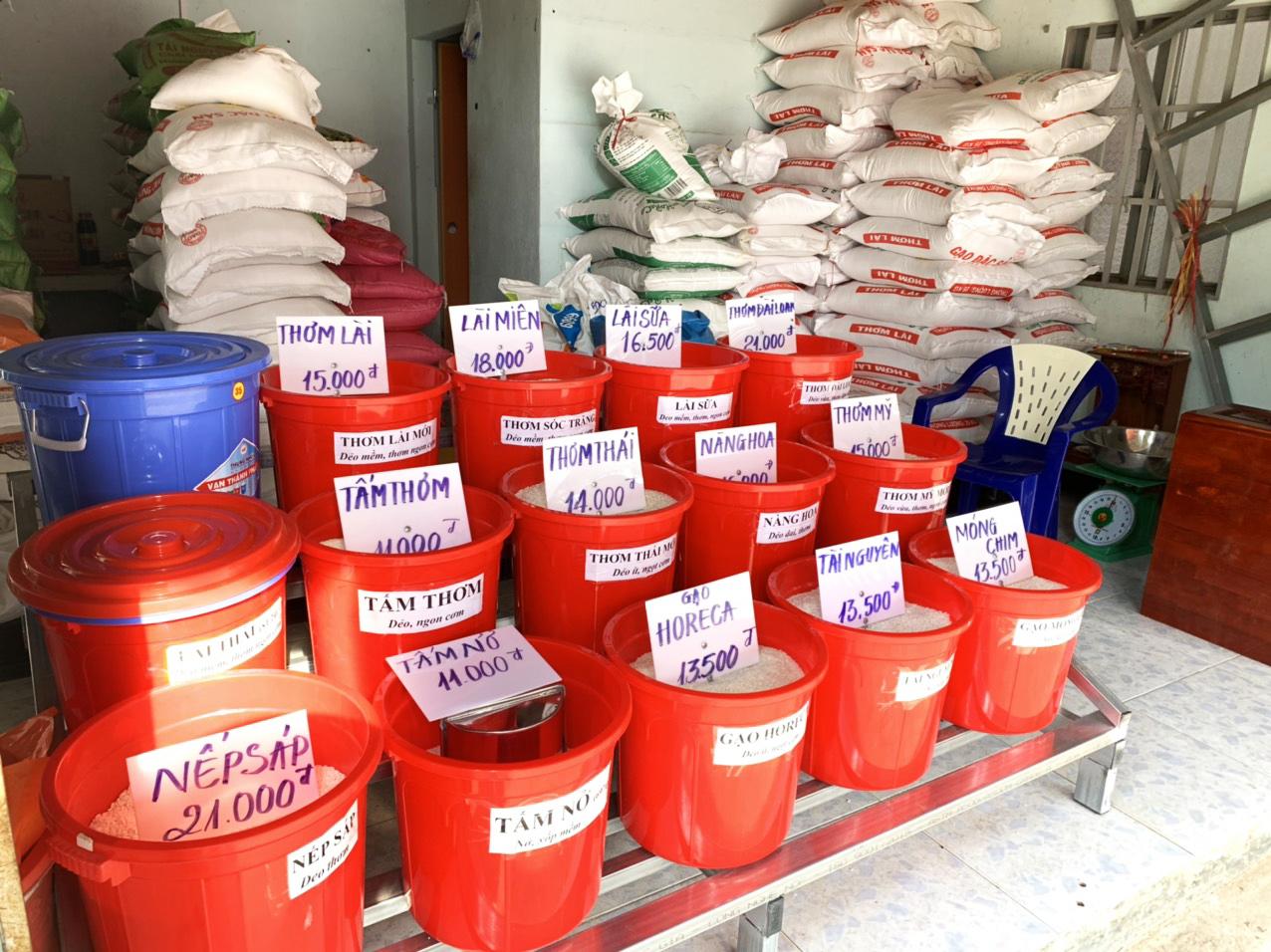 chi phí trong kinh doanh gạo