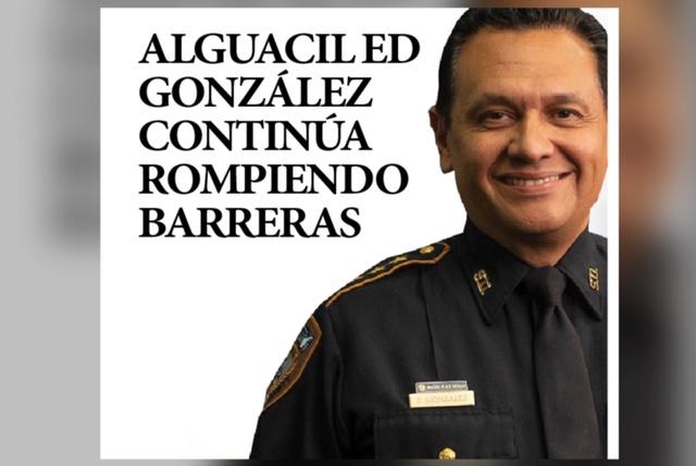 Alguacil Ed González continúa rompiendo barreras