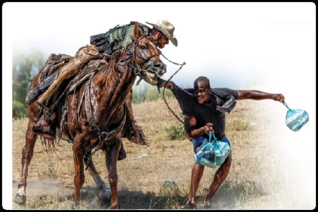 Atacando a los haitianos en la frontera