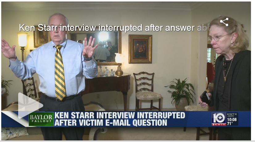 Media Training Gone Bad: The Starr/Spaeth Interview
