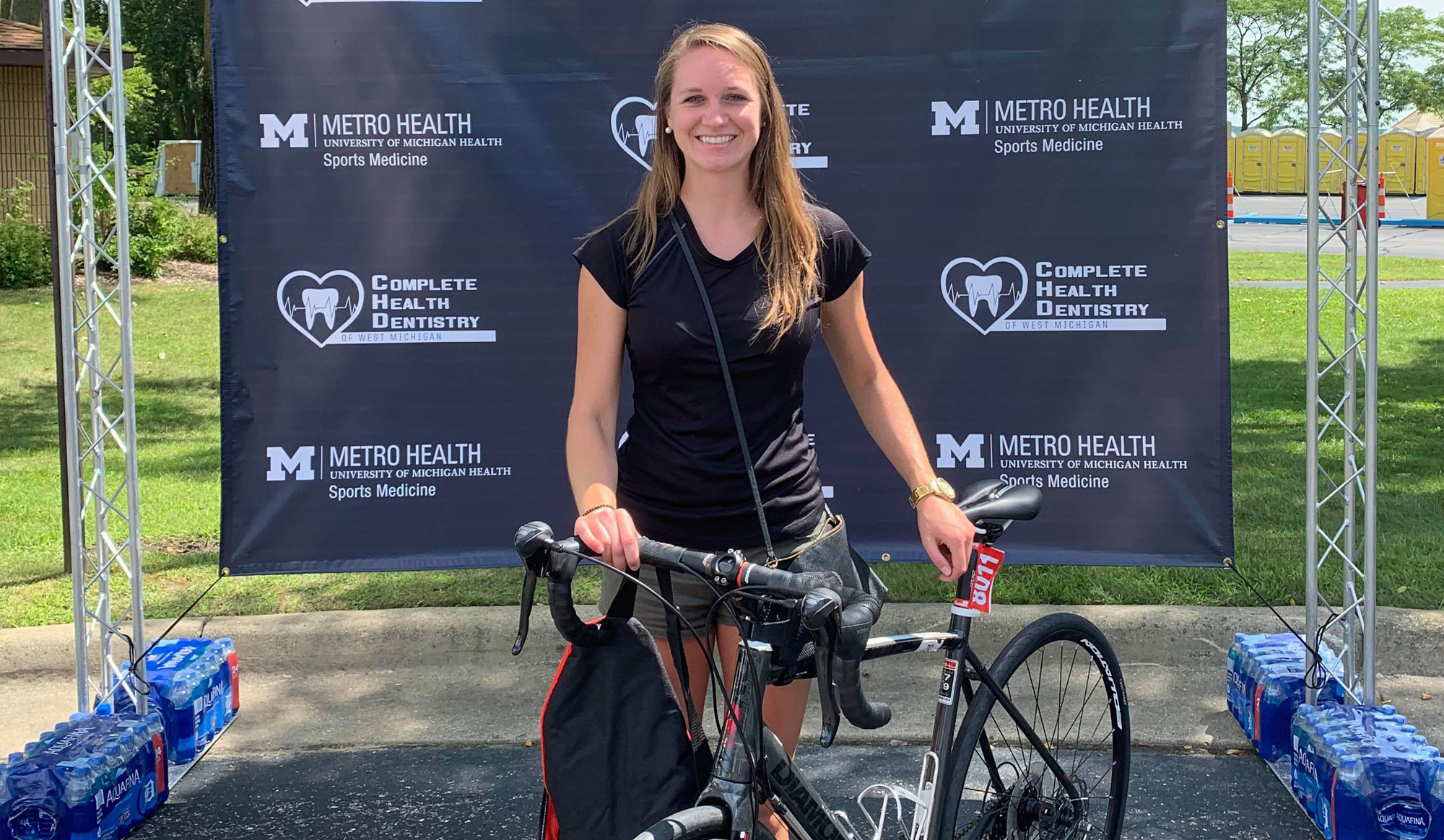 <b>I am a TITAN</b>: How a shortened course couldn't stop one full-distance triathlete from finishing