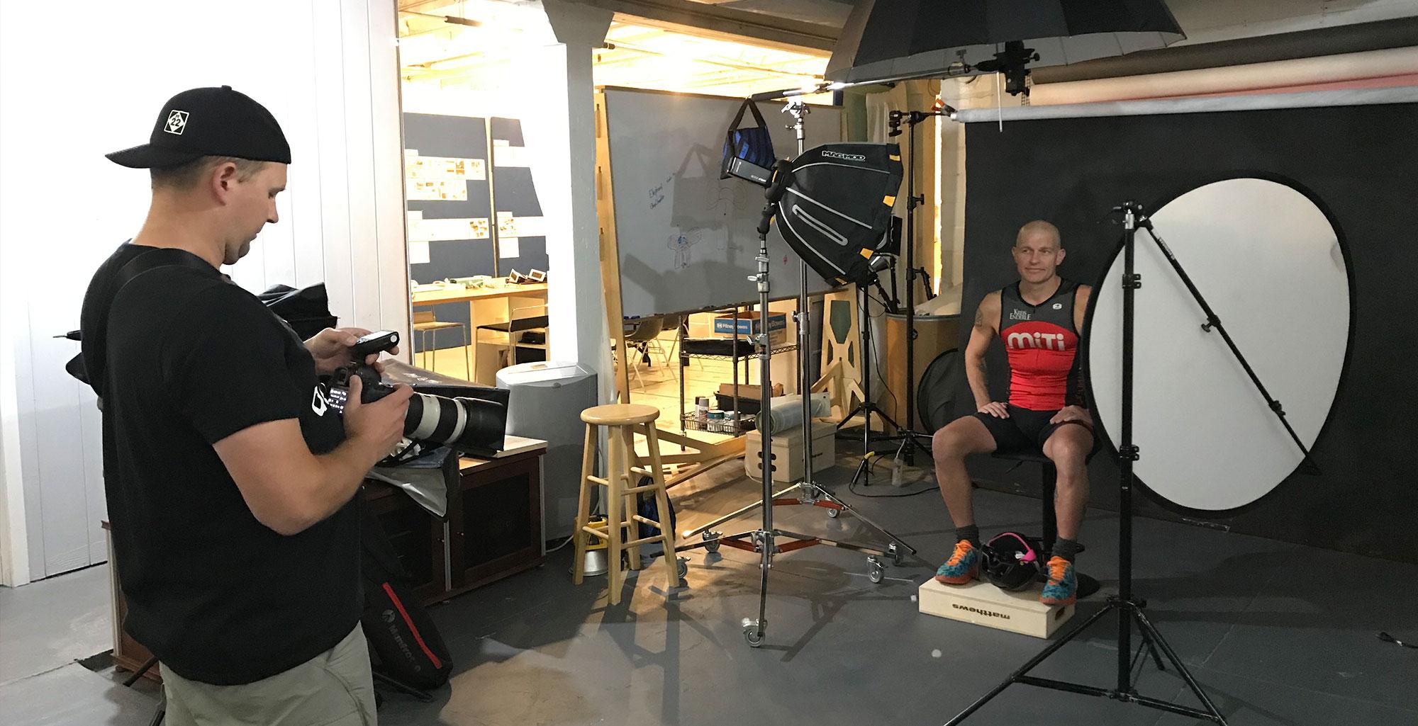 Behind the scenes: TITAN Photoshoot