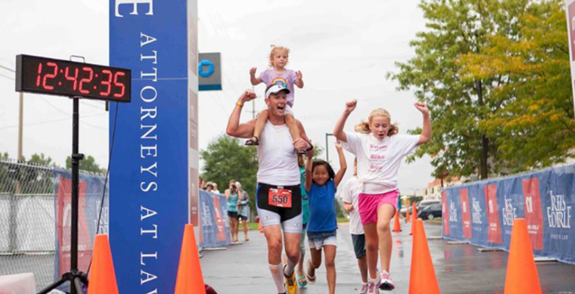 <b>I am a TITAN</b>: making triathlon a family affair