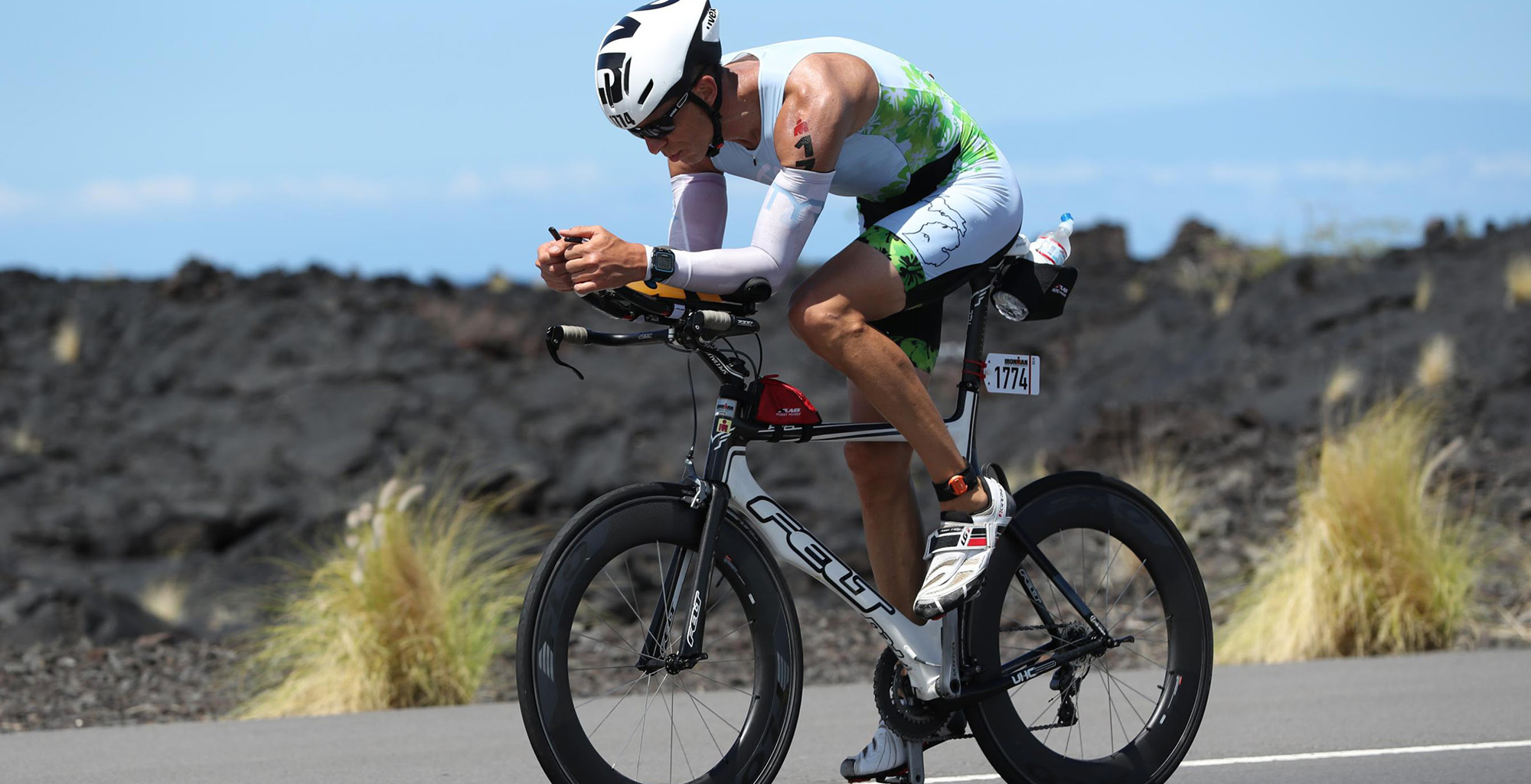 I AM A <b>TITAN</b>: how fun and fear got this triathlete to the start line