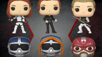 Photo of Marvel's Black Widow Funko POP!s Announced