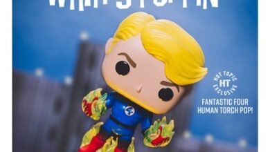 Photo of Hot Topic Exclusive Human Torch Funko POP! Is Now Available