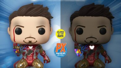 Photo of Deluxe Avengers Endgame Iron Man Funko POP! Announced As A Previews Exclusive
