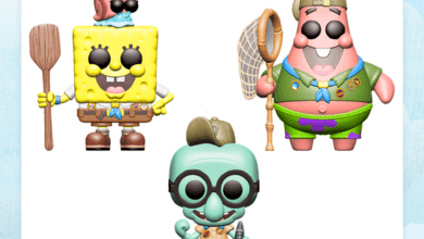 Photo of London Toy Fair Reveals: The SpongeBob Movie: Sponge On The Run Funko POP!