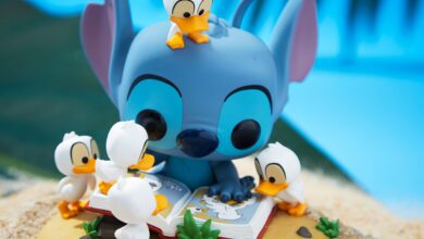 Photo of Box Lunch Exclusive Stitch With Ducks Deluxe Funko POP! Is Now Available