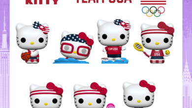 Photo of Funko New York Toy Fair 2020 Reveals: Team USA Hello Kitty POP!