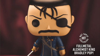 Photo of Hot Topic Exclusive King Bradley Funko POP! Is Now Available