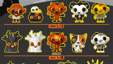 Photo of Funko Halloween Reveals: Boo Hallow Paka Paka Mystery Figures