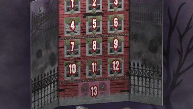 Photo of Funko Halloween Reveals: 13 Spooky Days Countdown Pocket POP! Calendar
