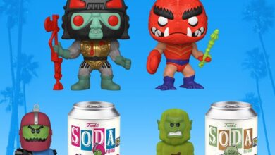 Photo of Funko SDCC 2020 Exclusive Reveals: Masters Of The Universe POP! & Soda