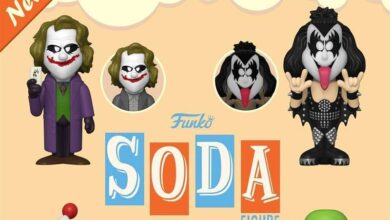 Photo of Funko Announces New Soda Figures Of The Joker, TMNT, KISS, & Chilly Willy