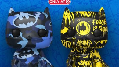 Photo of Batman Artist Series Exclusive Funko POP! Series Coming To Target