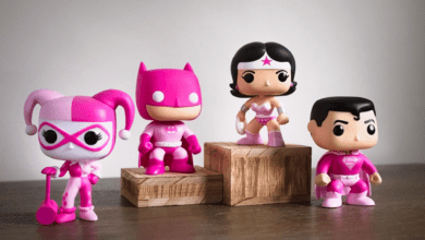Photo of Funko Announces New DC Superhero POP! To Support Breast Cancer Research Foundation