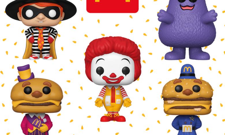 Photo of McDonald's Ad Icon Funko POP! Series Announced
