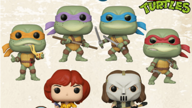 Photo of Teenage Mutant Ninja Turtles Retro Toys Funko POP! Revealed