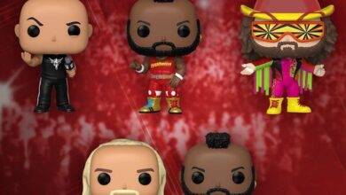 Photo of New WWE Funko POP! Coming This Fall
