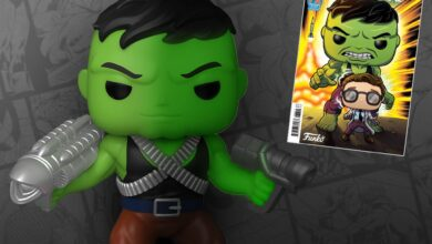 Photo of Professor Hulk 6″ Funko POP! Announced As A Previews Exclusive