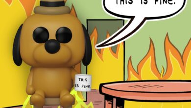 Photo of Entertainment Earth Exclusive This Is Fine Dog Funko POP! Is Now Available For Pre-Order