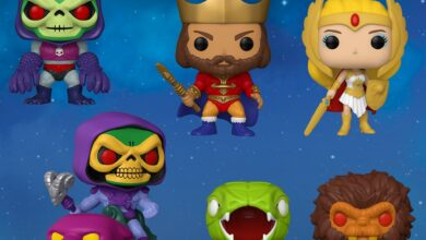 Photo of Brand New Wave Of He-Man & The Masters Of The Universe Funko POP! Revealed