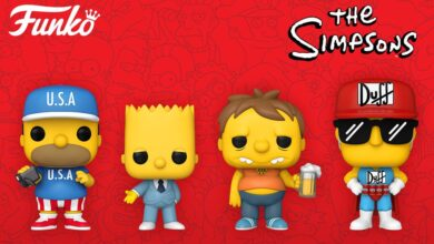 Photo of A Brand New Wave Of The Simpsons Funko POP! Coming This Winter