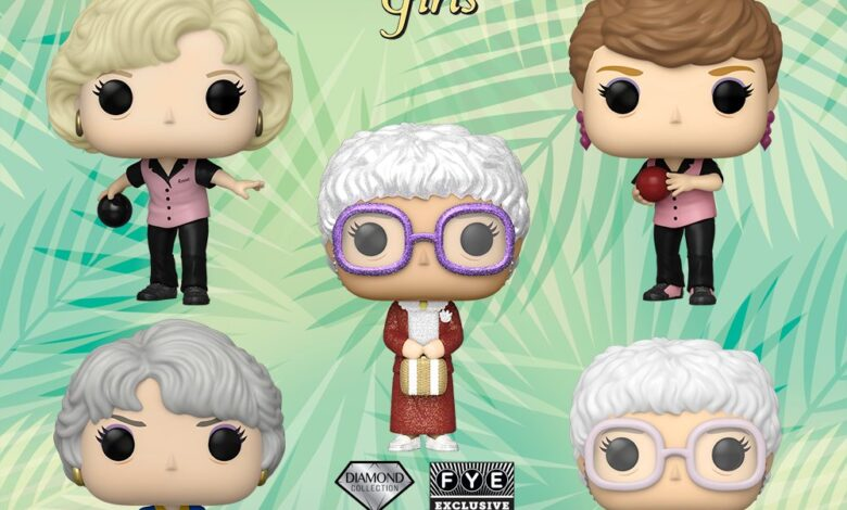 Photo of A New Wave Of Golden Girls Funko POP! Announced