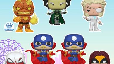 Photo of Funko Fair: Marvel Infinity Warps POP!